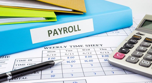 Automated payroll tax and deduction